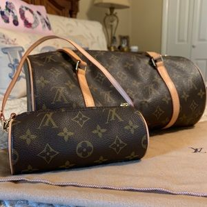 Louis Vuitton Monogram Long Bag